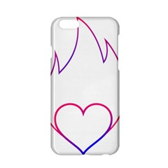 Heart Flame Logo Emblem Apple Iphone 6/6s Hardshell Case