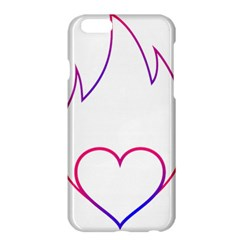 Heart Flame Logo Emblem Apple Iphone 6 Plus/6s Plus Hardshell Case by Nexatart