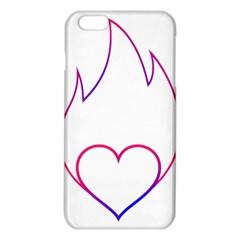 Heart Flame Logo Emblem Iphone 6 Plus/6s Plus Tpu Case