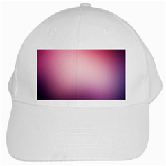 Background Blurry Template Pattern White Cap
