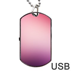 Background Blurry Template Pattern Dog Tag Usb Flash (one Side) by Nexatart