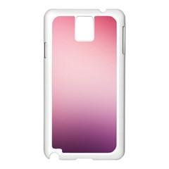 Background Blurry Template Pattern Samsung Galaxy Note 3 N9005 Case (white)