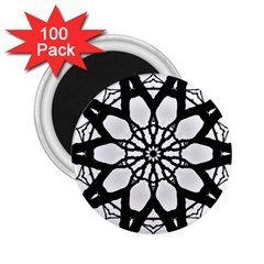 Pattern Abstract Fractal 2 25  Magnets (100 Pack)
