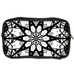 Pattern Abstract Fractal Toiletries Bags