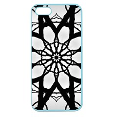 Pattern Abstract Fractal Apple Seamless Iphone 5 Case (color)