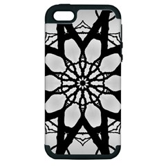 Pattern Abstract Fractal Apple Iphone 5 Hardshell Case (pc+silicone) by Nexatart