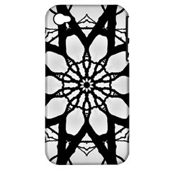 Pattern Abstract Fractal Apple Iphone 4/4s Hardshell Case (pc+silicone)