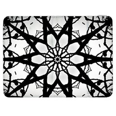 Pattern Abstract Fractal Samsung Galaxy Tab 7  P1000 Flip Case