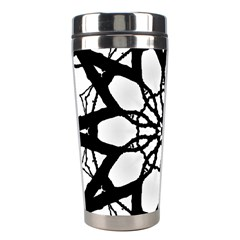 Pattern Abstract Fractal Stainless Steel Travel Tumblers