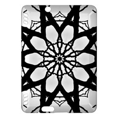 Pattern Abstract Fractal Kindle Fire Hdx Hardshell Case by Nexatart