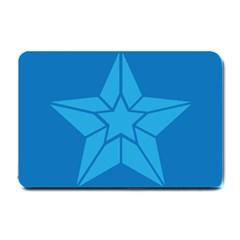 Star Design Pattern Texture Sign Small Doormat