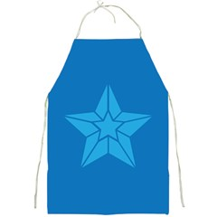 Star Design Pattern Texture Sign Full Print Aprons by Nexatart