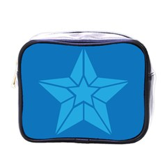 Star Design Pattern Texture Sign Mini Toiletries Bags by Nexatart