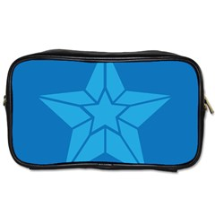 Star Design Pattern Texture Sign Toiletries Bags 2 Side by Nexatart