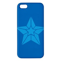Star Design Pattern Texture Sign Apple Iphone 5 Premium Hardshell Case