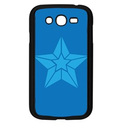 Star Design Pattern Texture Sign Samsung Galaxy Grand Duos I9082 Case (black)