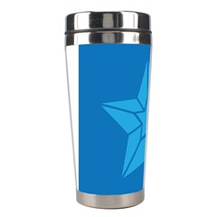 Star Design Pattern Texture Sign Stainless Steel Travel Tumblers