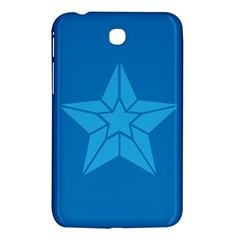 Star Design Pattern Texture Sign Samsung Galaxy Tab 3 (7 ) P3200 Hardshell Case  by Nexatart