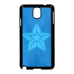 Star Design Pattern Texture Sign Samsung Galaxy Note 3 Neo Hardshell Case (black)