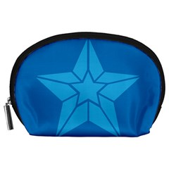 Star Design Pattern Texture Sign Accessory Pouches (large)
