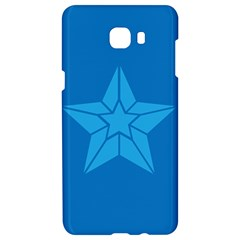 Star Design Pattern Texture Sign Samsung C9 Pro Hardshell Case  by Nexatart