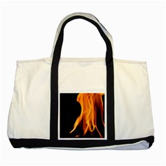 Fire Flame Pillar Of Fire Heat Two Tone Tote Bag