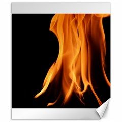 Fire Flame Pillar Of Fire Heat Canvas 8  X 10  by Nexatart