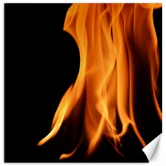 Fire Flame Pillar Of Fire Heat Canvas 16  X 16