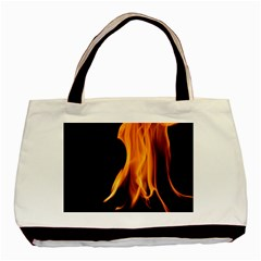 Fire Flame Pillar Of Fire Heat Basic Tote Bag (two Sides)