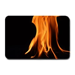Fire Flame Pillar Of Fire Heat Plate Mats by Nexatart
