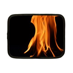 Fire Flame Pillar Of Fire Heat Netbook Case (small)  by Nexatart