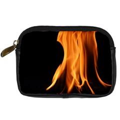 Fire Flame Pillar Of Fire Heat Digital Camera Cases by Nexatart