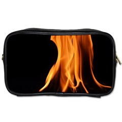 Fire Flame Pillar Of Fire Heat Toiletries Bags 2 Side by Nexatart