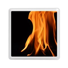 Fire Flame Pillar Of Fire Heat Memory Card Reader (square)  by Nexatart