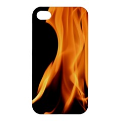 Fire Flame Pillar Of Fire Heat Apple Iphone 4/4s Hardshell Case by Nexatart