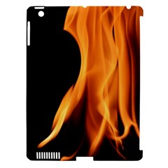 Fire Flame Pillar Of Fire Heat Apple Ipad 3/4 Hardshell Case (compatible With Smart Cover) by Nexatart