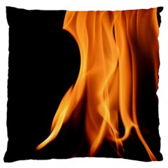 Fire Flame Pillar Of Fire Heat Large Cushion Case (two Sides) by Nexatart