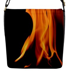 Fire Flame Pillar Of Fire Heat Flap Messenger Bag (s)