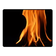 Fire Flame Pillar Of Fire Heat Double Sided Fleece Blanket (small)  by Nexatart