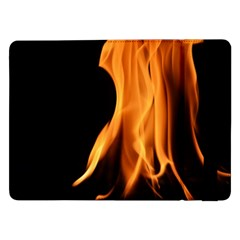 Fire Flame Pillar Of Fire Heat Samsung Galaxy Tab Pro 12 2  Flip Case