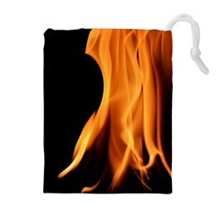 Fire Flame Pillar Of Fire Heat Drawstring Pouches (extra Large) by Nexatart