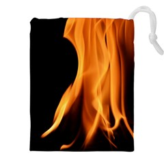 Fire Flame Pillar Of Fire Heat Drawstring Pouches (xxl)