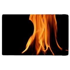 Fire Flame Pillar Of Fire Heat Apple Ipad Pro 9 7   Flip Case by Nexatart