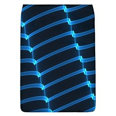 Background Light Glow Blue Flap Covers (l)