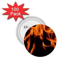 Fire Flame Heat Burn Hot 1 75  Buttons (100 Pack)
