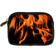 Fire Flame Heat Burn Hot Digital Camera Cases by Nexatart