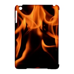 Fire Flame Heat Burn Hot Apple Ipad Mini Hardshell Case (compatible With Smart Cover) by Nexatart