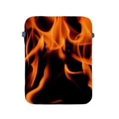 Fire Flame Heat Burn Hot Apple Ipad 2/3/4 Protective Soft Cases