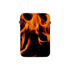 Fire Flame Heat Burn Hot Apple Ipad Mini Protective Soft Cases by Nexatart
