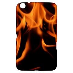 Fire Flame Heat Burn Hot Samsung Galaxy Tab 3 (8 ) T3100 Hardshell Case  by Nexatart